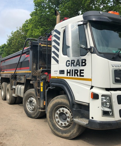 Grab Lorry Hire, Muck Away
